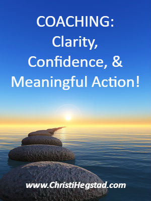 Water Rock Path Coaching Clarity Confidence Meaningful Action