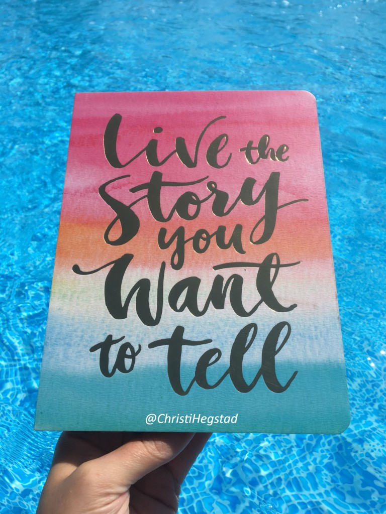 Journal Live Story Want Tell Pool Water