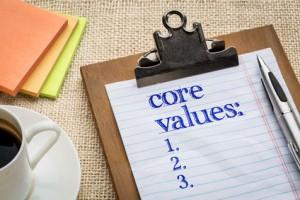 Core Values Coffee Paper