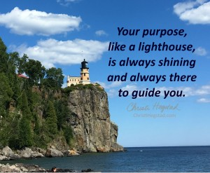 Lighthouse Purpose Always Guide Split Rock