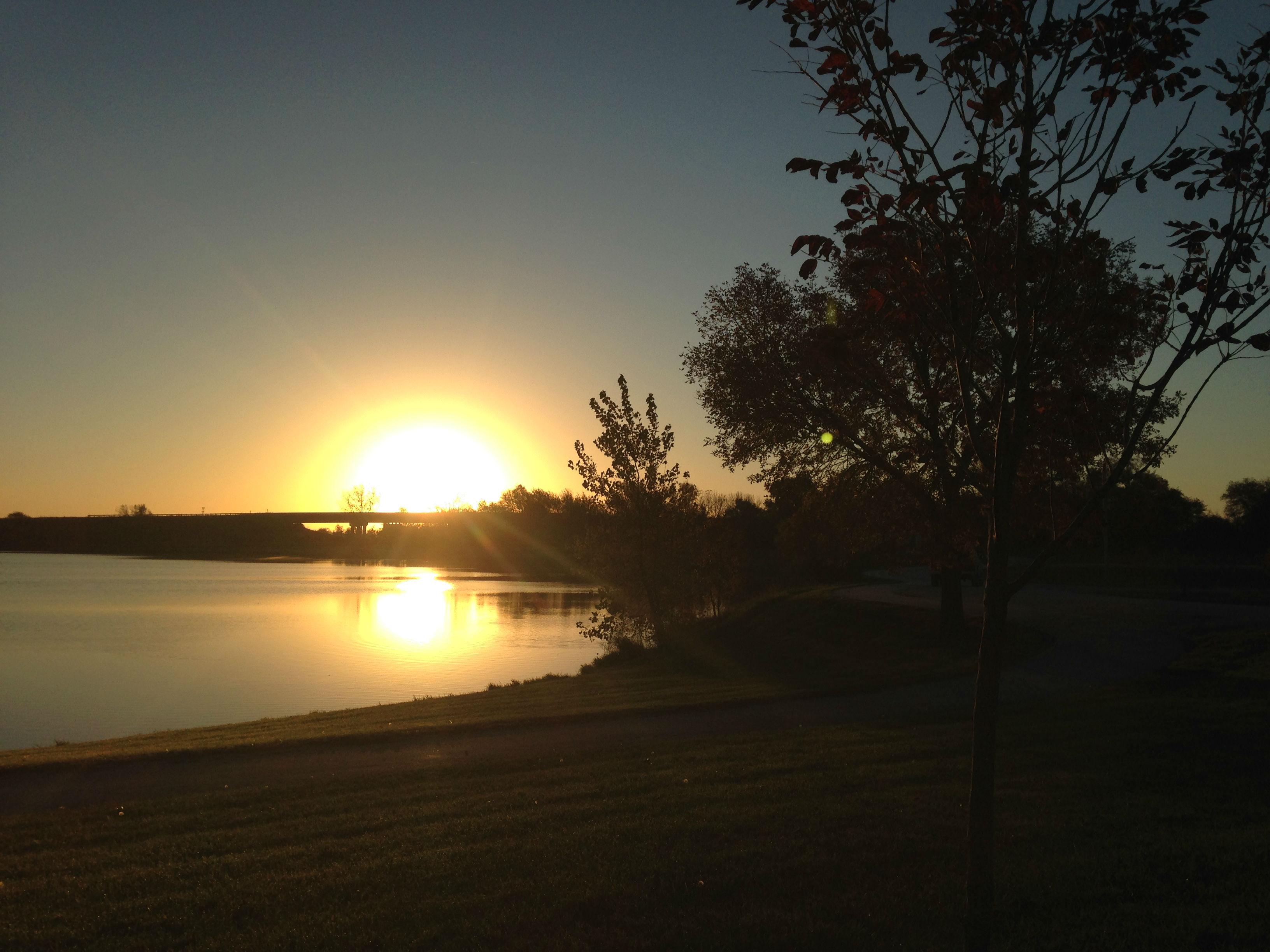 Sunrise Lake Bondurant Iowa 2016
