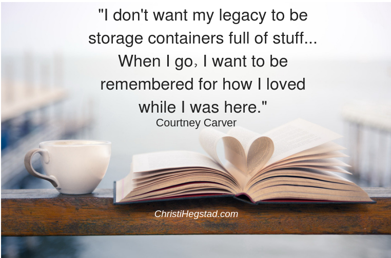 Simplicity Legacy Carver Quote Book Coffee
