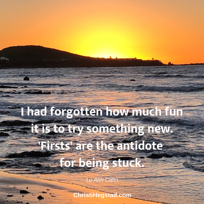 Try Something New - Quote Sunset-2