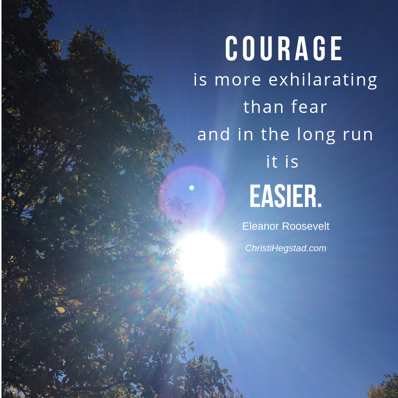 Courage Exhilarating Fear Roosevelt Quote-2