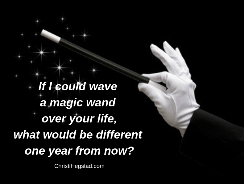 Wave Magic Wand Life Different One Year-2