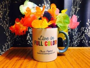 Live In Full Color Mug Lei