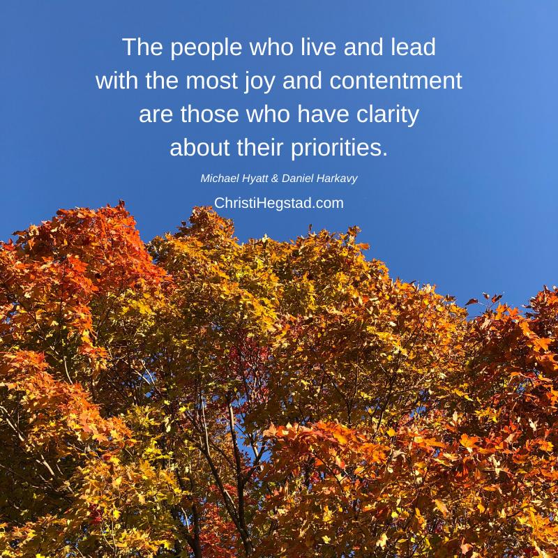 Lead Joy Priorities Quote Hyatt