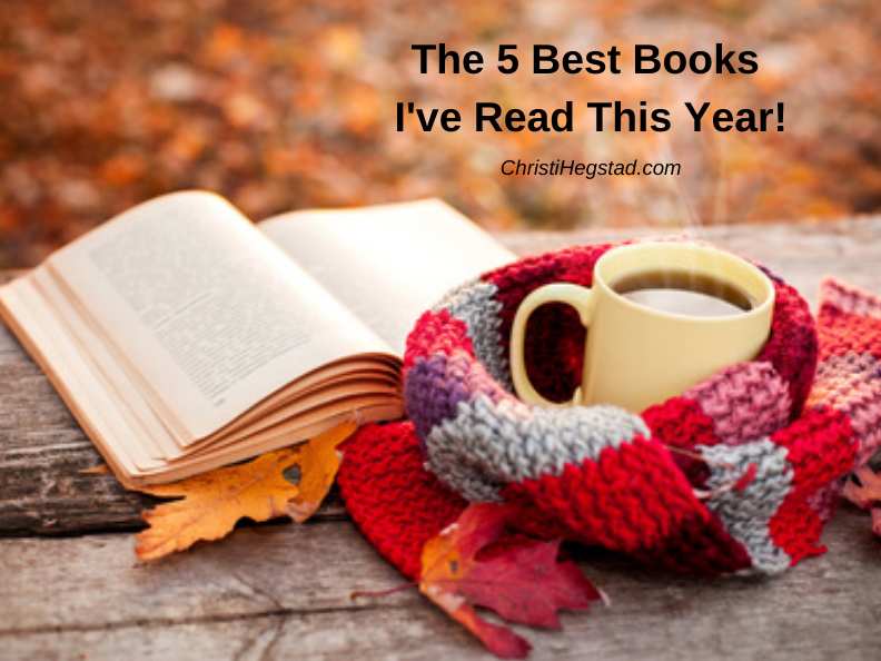 The 5 Best Books I've Read This Year!