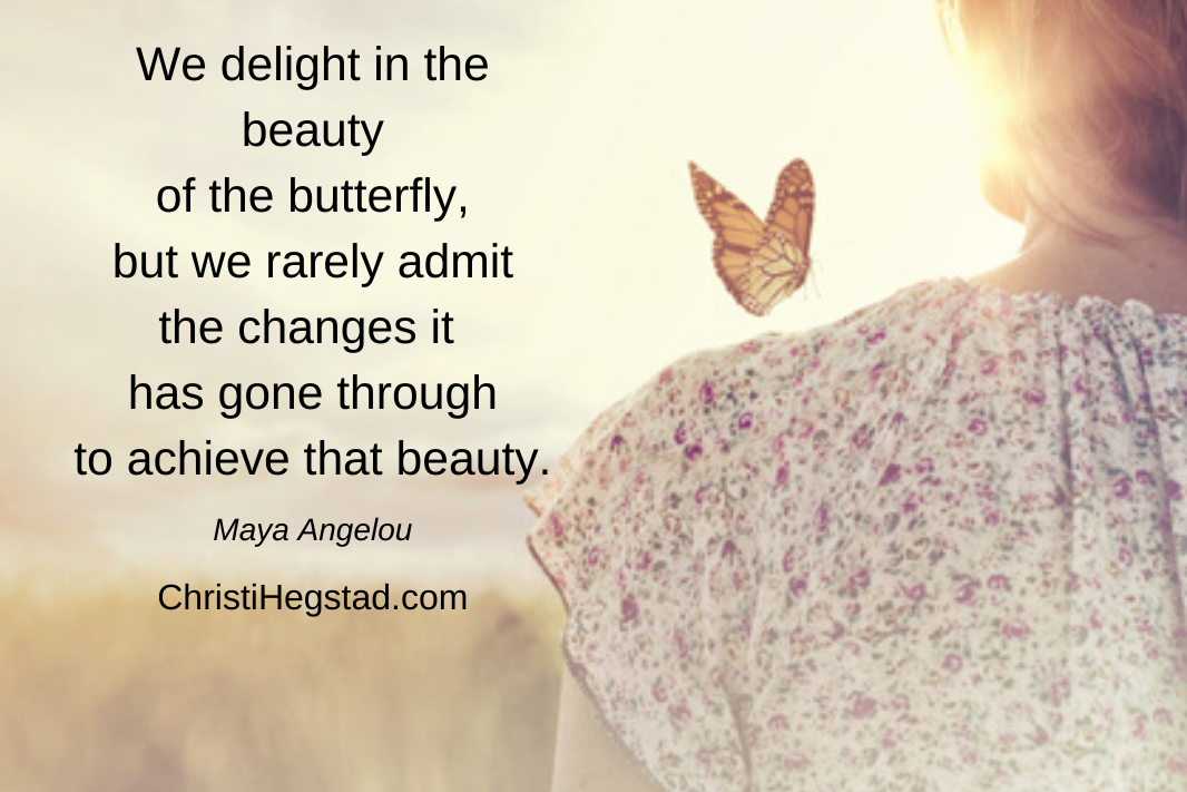 Beauty Butterfly Angelou