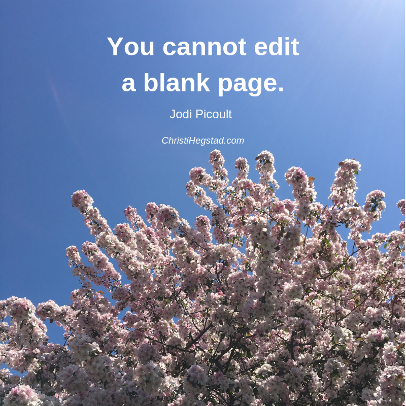 Can't Edit Blank Page Quote