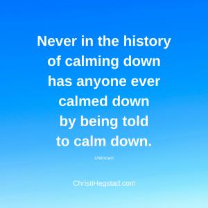 History Calm Down