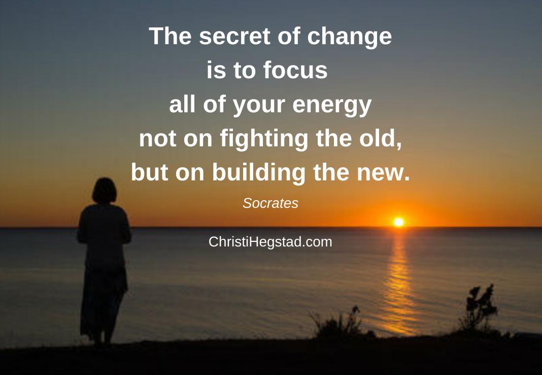 The secret of change Socrates Lake