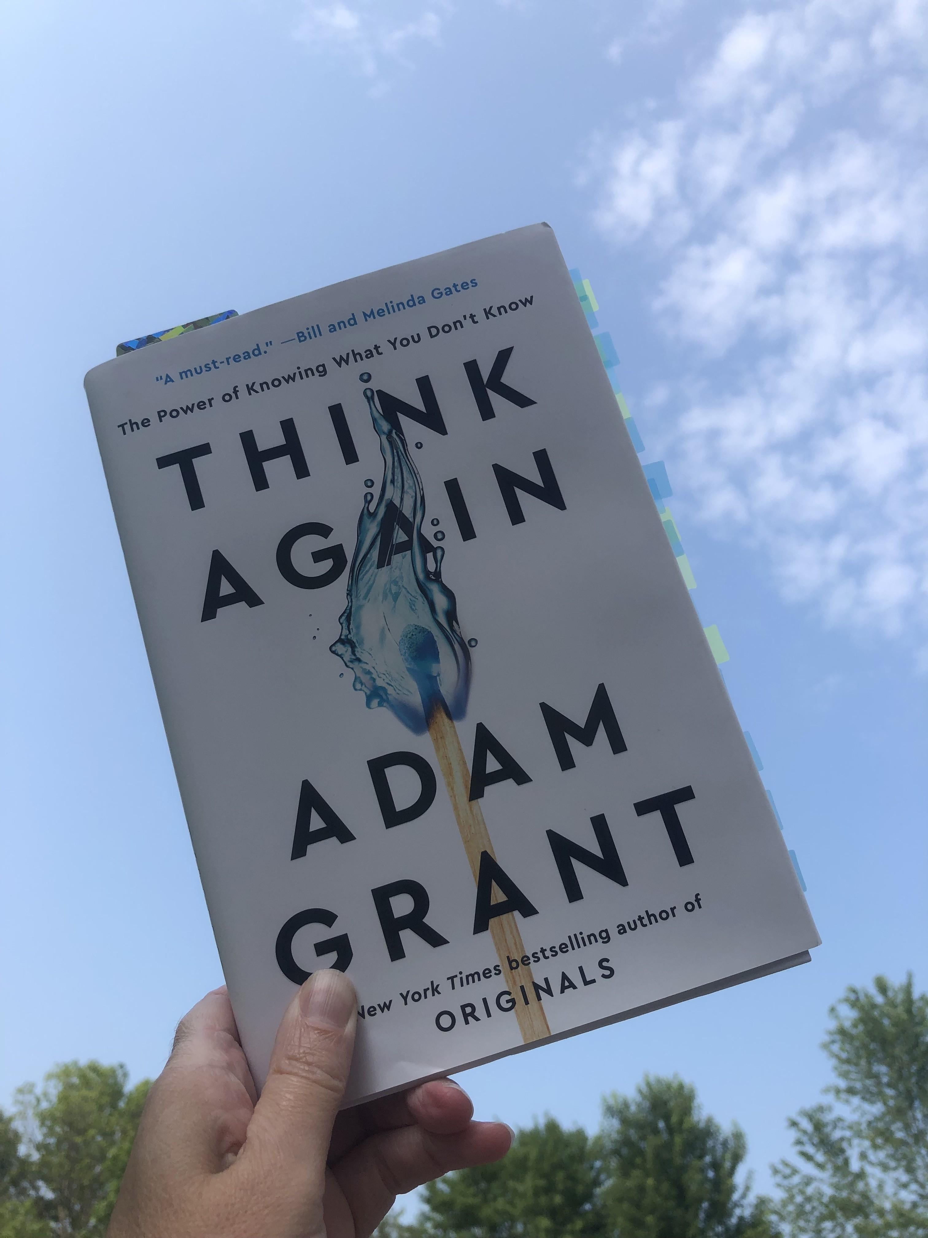 Think Again book Grant