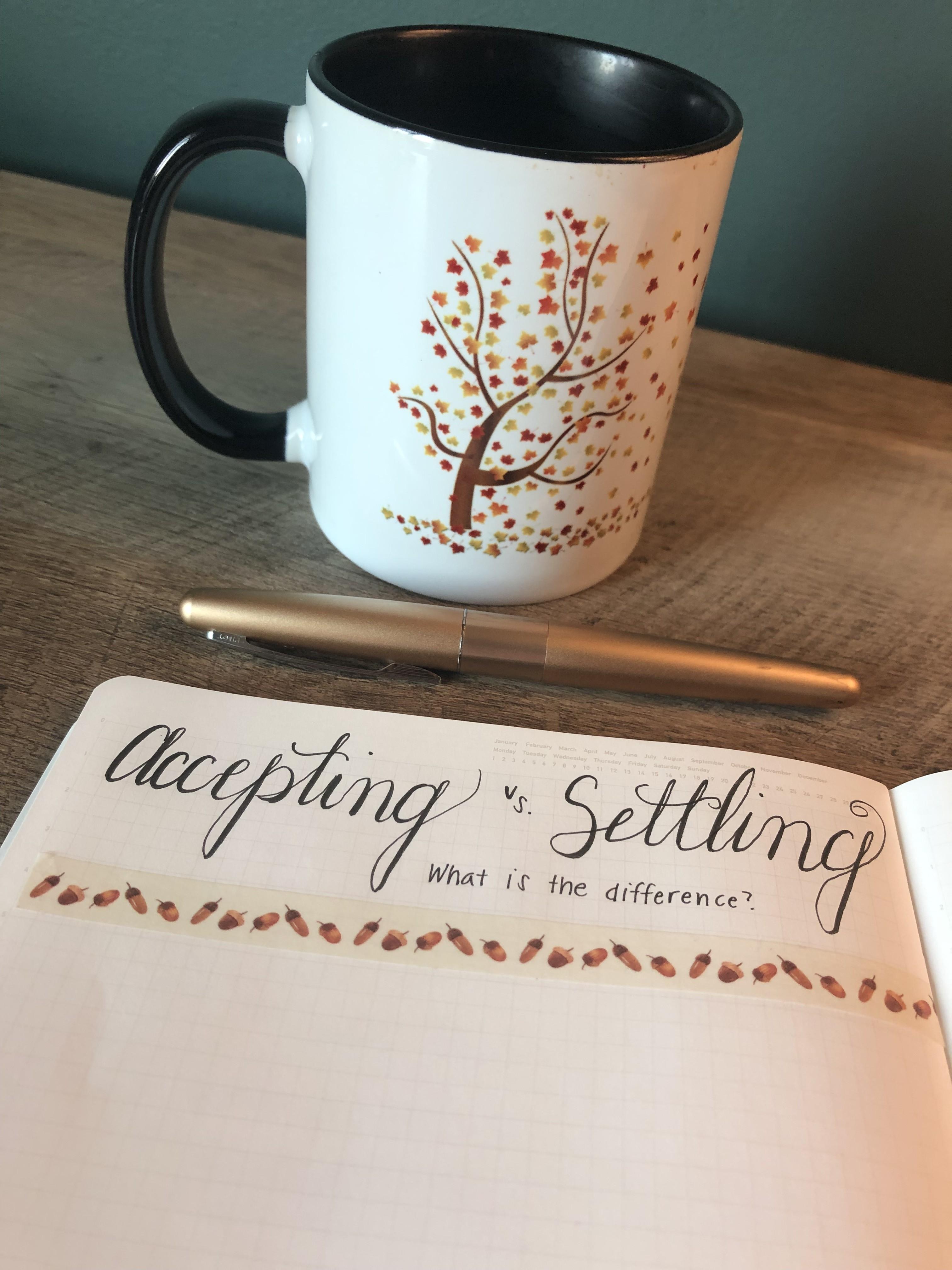 Accept vs Settling