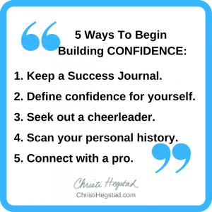 Quote Box - Confidence 5 Ways