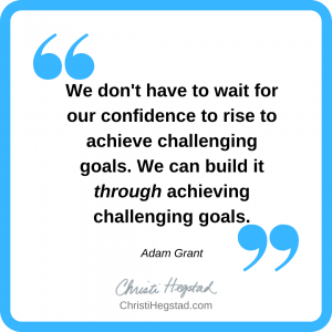 Quote Box - Grant - Challenging Goals