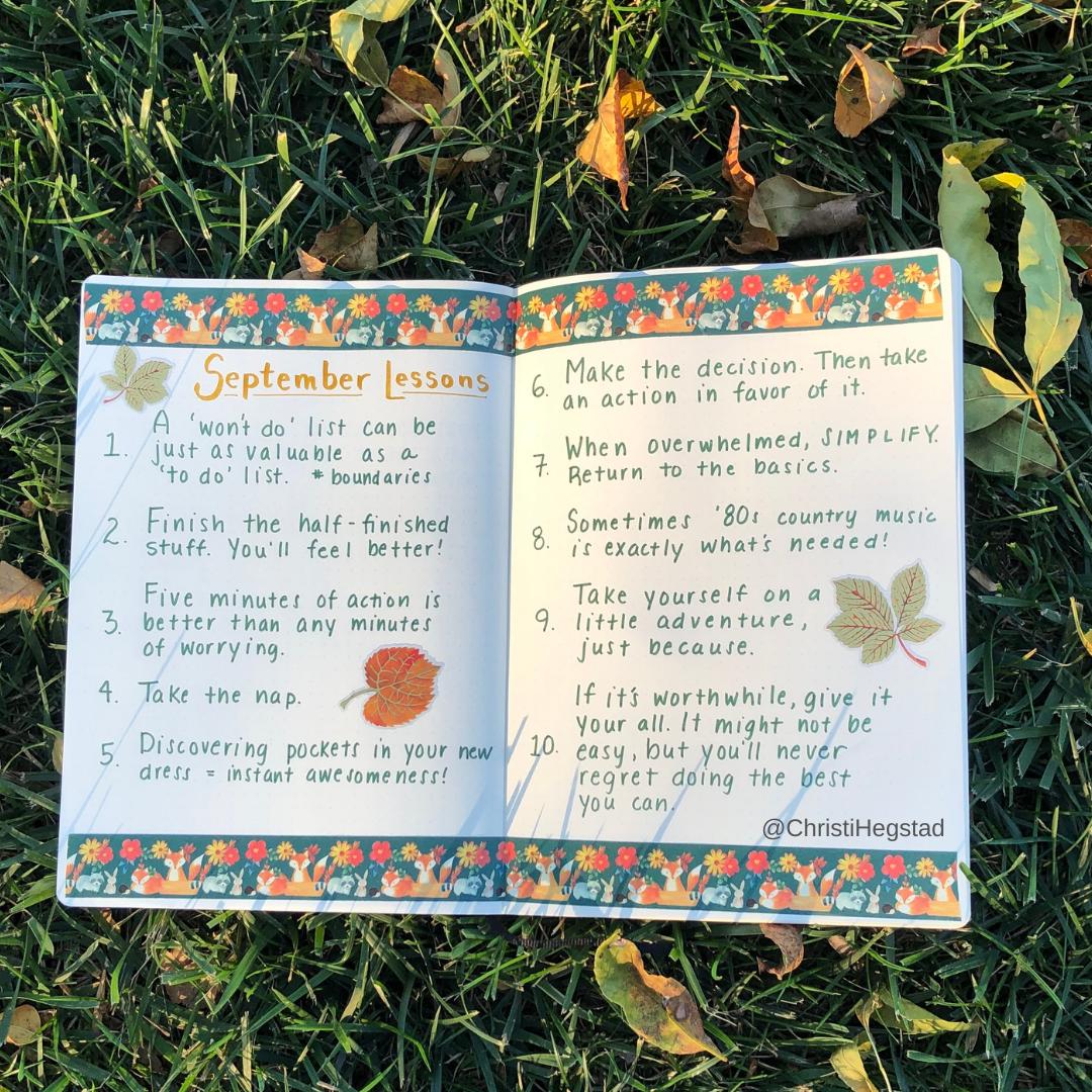 Sept Lessons 21